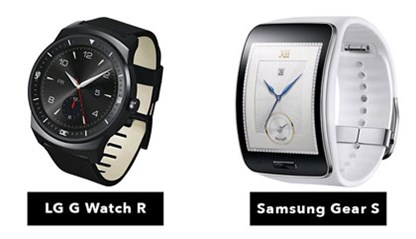 Gear S - G Watch R