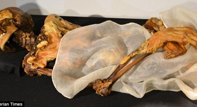 xác ướp 2.500 tuổi tại Nga
