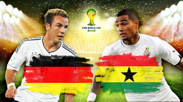 Dự đoán kết quả tỉ số trận Đức - Ghana