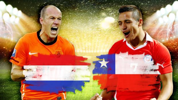 Link sopcast xem trực tiếp trận Hà Lan - Chile