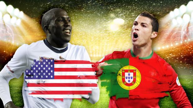 Link sopcast xem trực tiếp trận Mỹ - Bồ Đào Nha