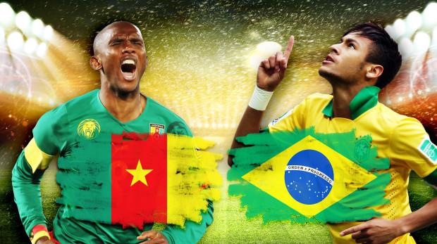 Link xem trực tiếp trận Cameroon - Brazil World Cup 2014