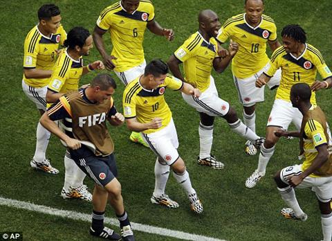 Kết quả tỉ số trận đấu Colombia - Bờ Biển Ngà