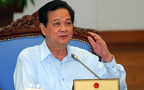thủ tướng Nguyễn Tấn Dũng yêu cầu phải hết sức lo cho doanh nghiệp