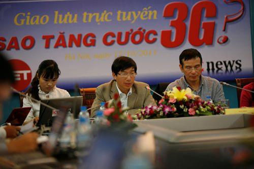 Ông Nguyễn Đức Trung lí giải tăng cước 3G