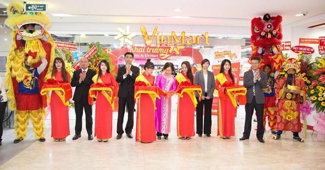 Vingroup vừa chính thức khai trương siêu thị VinMart tại Trung tâm thương mại Vincom Đồng Khởi - TP.HCM