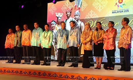 Trưởng đoàn các nước tại Hội nghị hẹp Bộ trưởng Ngoại giao ASEAN.