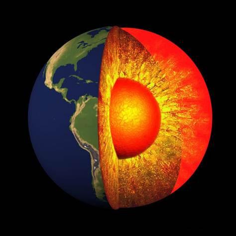 Phát hiện lớp đá kết dính lạ nằm dưới lớp vỏ Trái Đất