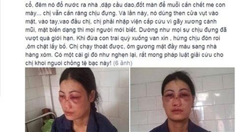 phẫn nộ với hành vi chồng bắt vợ ăn phân lợn ở Nam Định 1