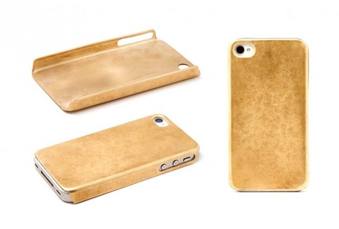 Vỏ iphone đắt giá Miansai được mạ vàng 14 cara