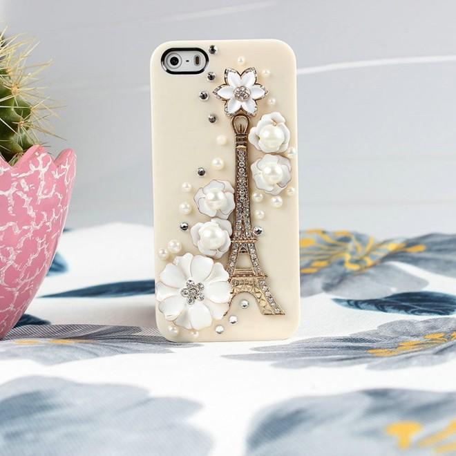 Vỏ iphone đắt giá Tower Flower được chế tạp dành cho nữ giới
