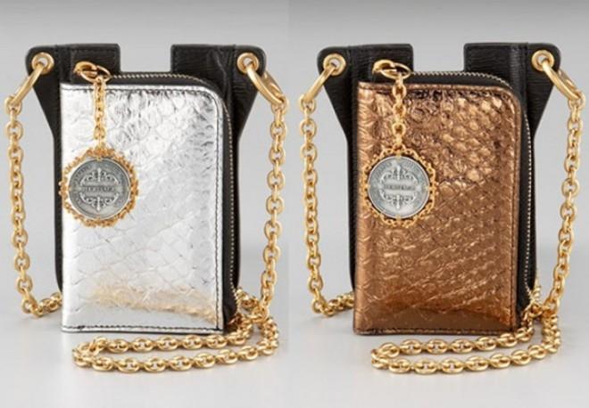 Vỏ bao của Dolce& Gabbana được làm từ da cá sấu