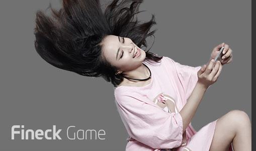 Không đơn thuần là một thiết bị theo dõi sức khỏe, Fineck còn cung cấp trò chơi để luyện tập vùng cổ gáy