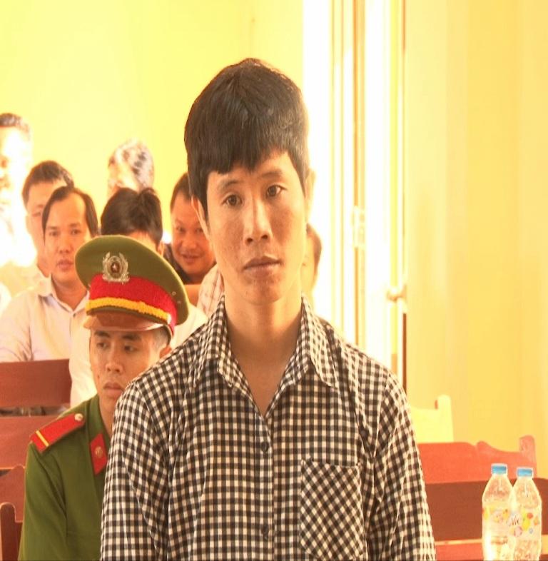 Nguyễn Thái Quỳnh tại phiên tòa xét xử