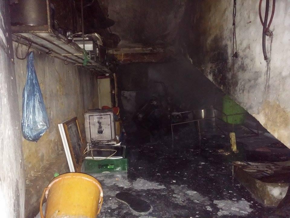 Vụ cháy mới nhất ở Hà Nội bắt nguồn từ gầm cầu thang tầng 1 khu  nhà tập thể thành công