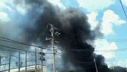 Vụ cháy ở công ty vải khiến nhiều công nhân hoảng loạn
