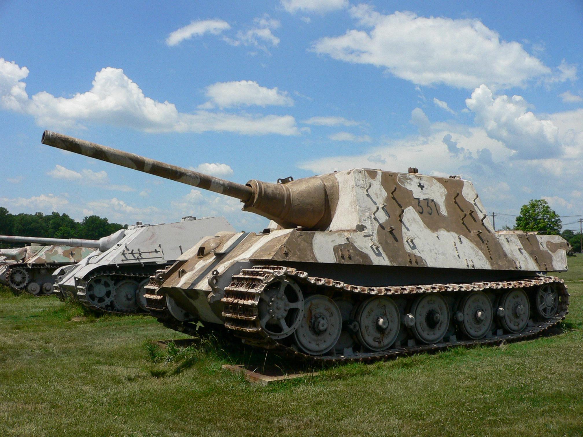Vũ khí quân sự Jagdtiger đã tiêu diệt hàng loạt xe tăng của quân Đồng Minh
