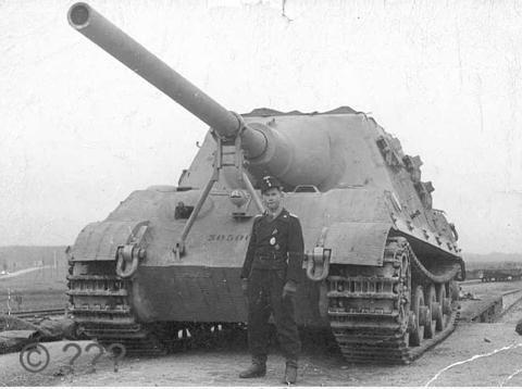 Vũ khí quân sự Jagdtiger uy trấn một thời của quân đội Đức