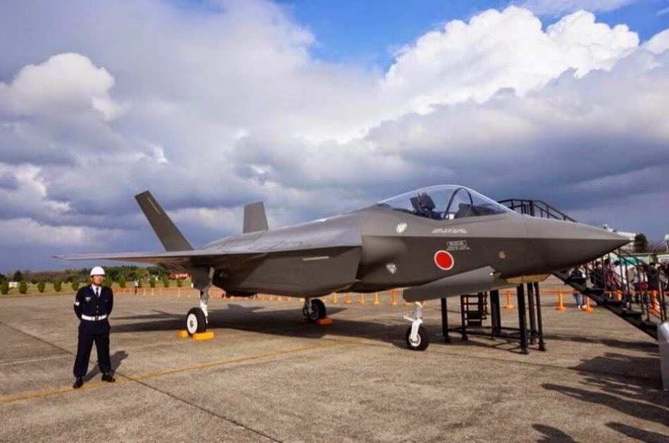 Tiêm kích tàng hình F-35 là một trong những vũ khí chủ lực của quân đội Nhật Bản