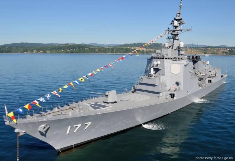 Tàu khu trục uy lực nhất của Nhật hiện nay là các chiếc lớp Atago