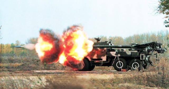 Vũ khí quân sự pháo tự hành SH-1 được nhận định là CAESAR của Trung Quốc