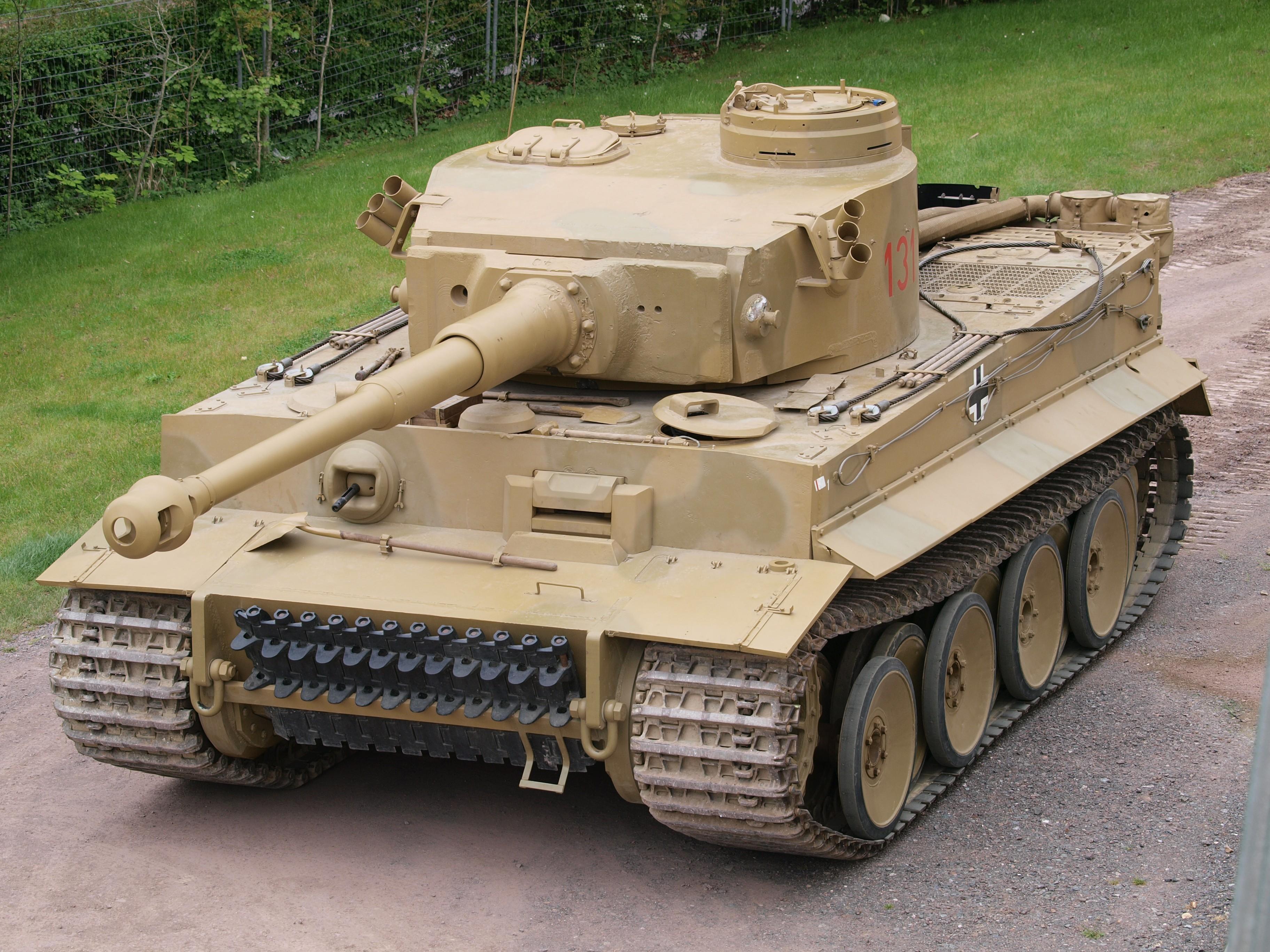 Chiếc Tiger 131, vũ khí quân sự khiến quân đội Mỹ khiếp sợ