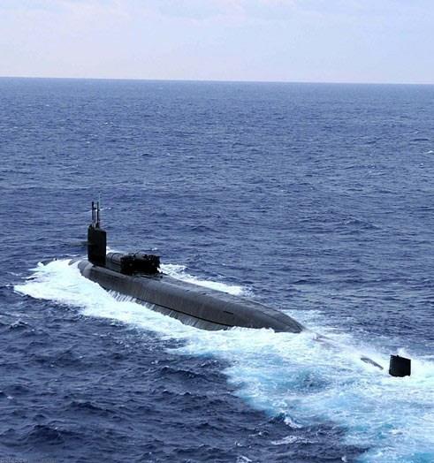Tàu ngầm hạt nhân lớp Ohio là thứ vũ khí quân sự khiến Nga lo ngại