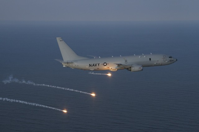 P-8A Poseidon là một loại vũ khí quân sự khắc tinh của tàu ngầm
