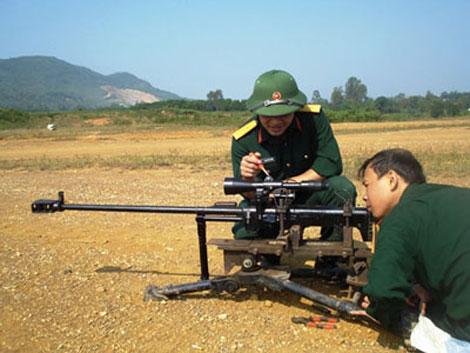 Nước ta đã nghiên cứu chế tạo thành công vũ khí quân sự súng bắn tỉa nòng lớn 12,7mm với tên gọi N12