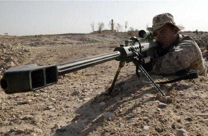 Vũ khí quân sự Barett M82 là 1 loại súng bắn tỉa dùng đạn 12,7mm