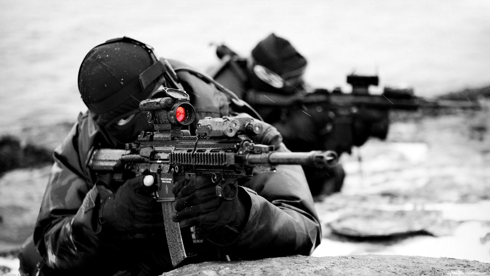 Heckler & Koch HK416 là thứ vũ khí quân sự cải tiến từ M4 nổi tiếng