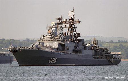 Vũ khí quân sự tàu săn ngầm Levchenko tham gia tập trận