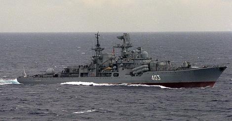 Tàu khu trục lớp Sovremenny được trang bị vũ khí quân sự tên lửa rất uy lực