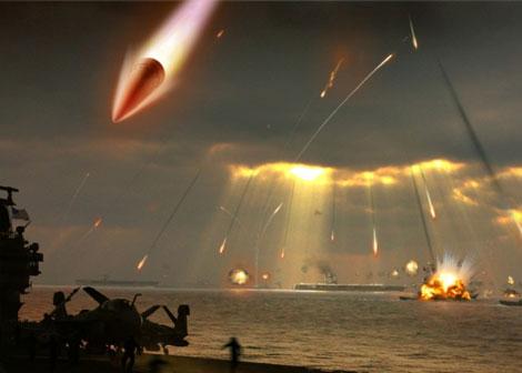 Kịch bản tiến công của vũ khí quân sự tên lửa DF-21D