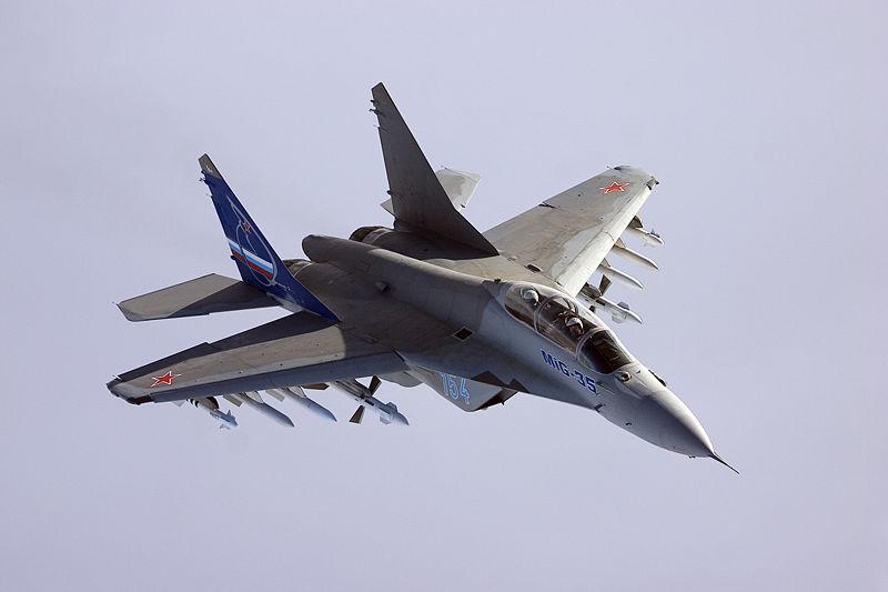 Máy bay chiến đấu MiG 35 là 1 loại vũ khí quân sự có khả năng tác chiến linh hoạt