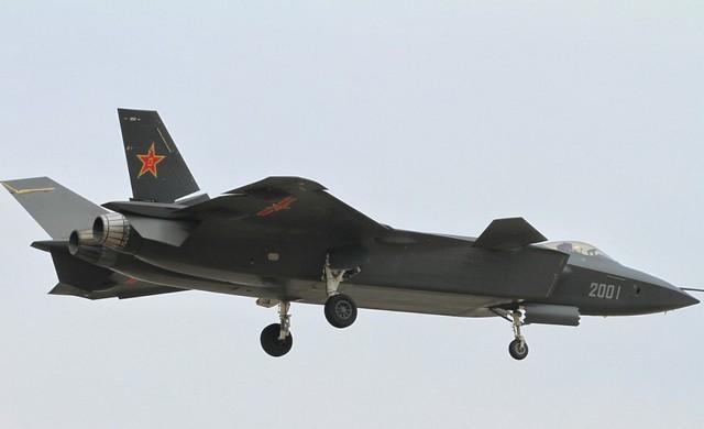 Tiêm kích tàng hình J-20 là loại vũ khí quân sự được Trung Quốc phát triển cho không quân