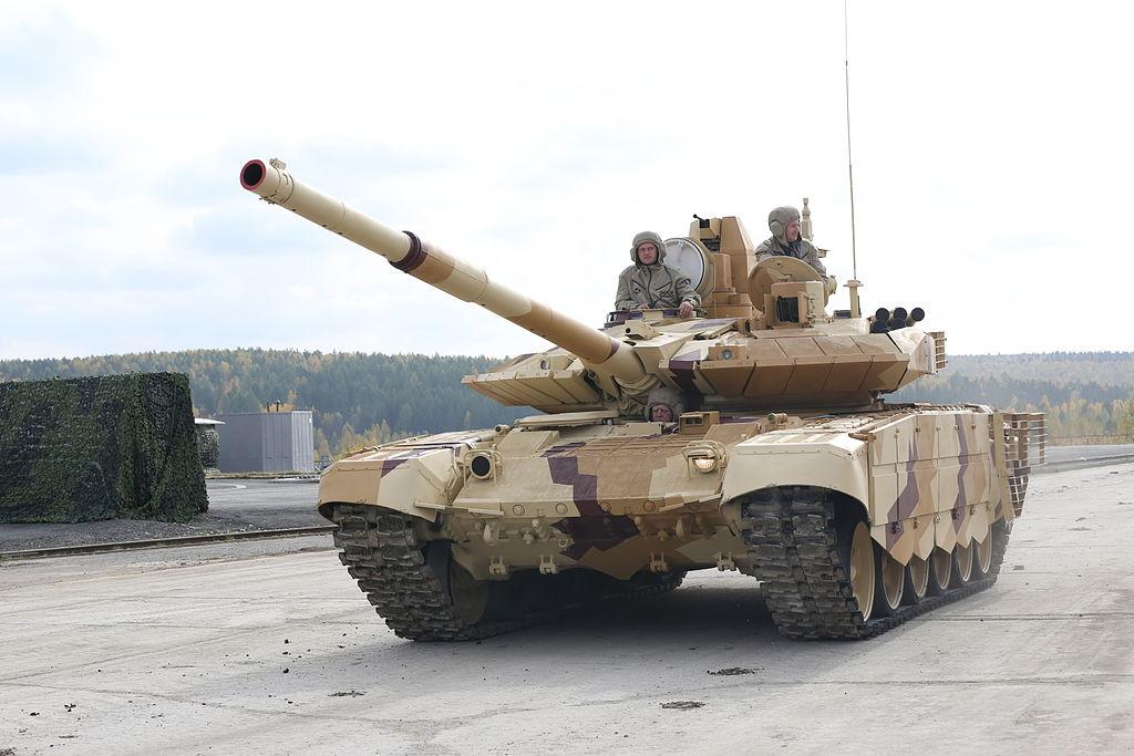 Tăng T-90 là loại vũ khí quân sự vô cùng uy lực của lực lượng tăng thiết giáp
