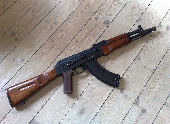 ISIS và vũ khí siêu hạng: Súng trường AK-47s (Nga). Ảnh minh họa