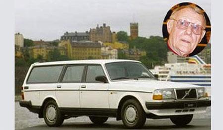 một chiếc Volvo 240 xoàng xĩnh có giá trị ít hơn 900 euro