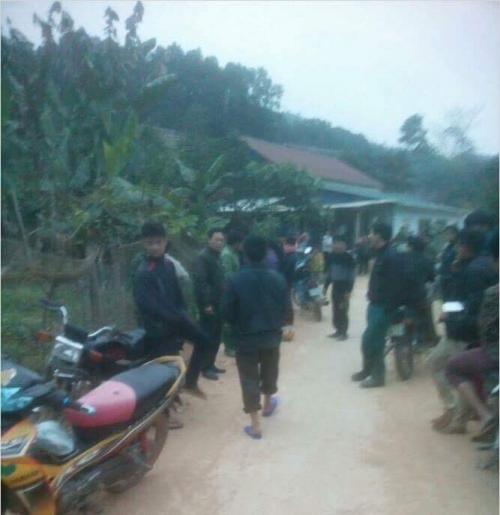 Người dân Đội 4, xã Đại Sơn đã vô cùng kinh hãi khi phát hiện ra thi thể một hài nhi
