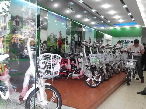 Xe đạp điện tràn lan trên thị tường