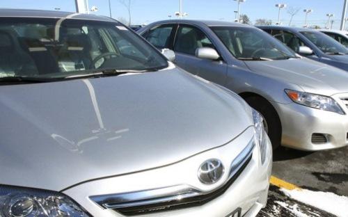 Thời gian qua, hãng xe ô tô Toyota liên tiếp phải triệu hồi hoặc thu hồi xe với số lượng lớn