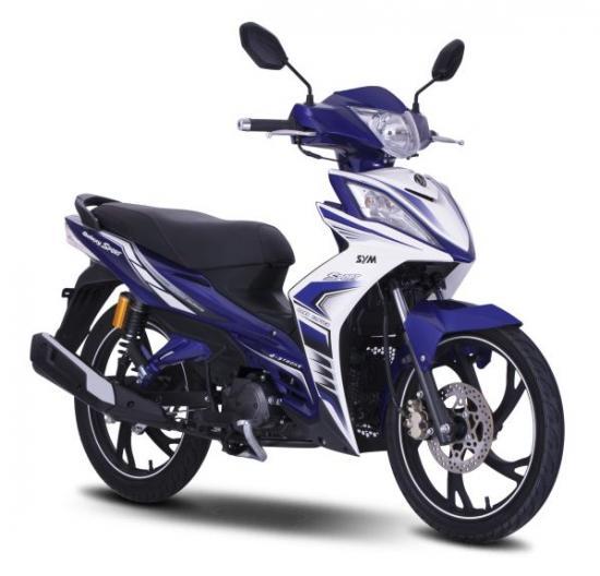 SYM Galaxy Sport 110 - mẫu xe máy côn tay giá rẻ vừa có mặt tại Việt Nam