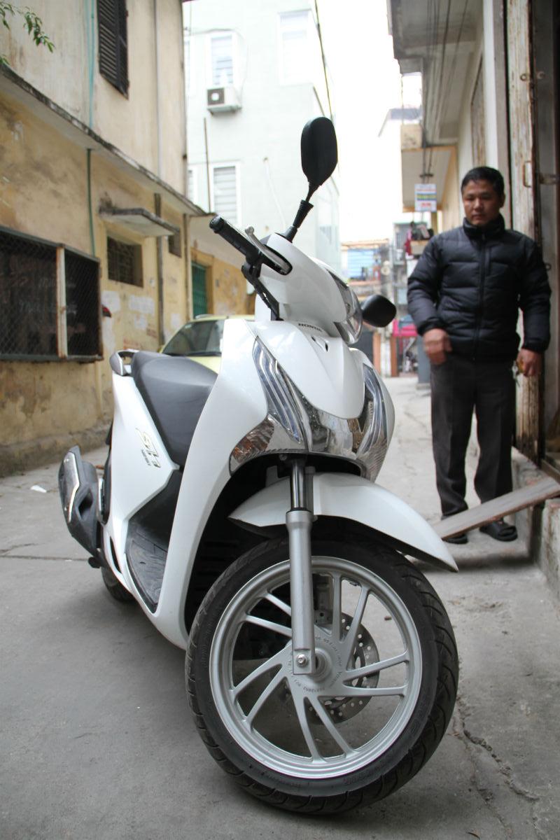 SH125i của Honda tiếp tục bị tố có vấn đề về chất lượng