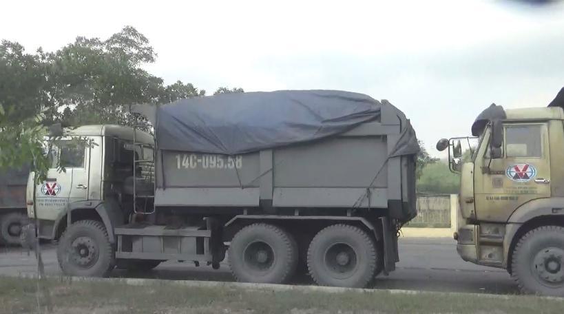 xe quá tải uông bí vàng danh