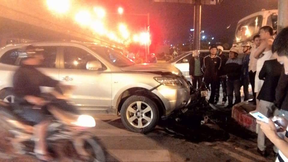 Xe Santafe gây tai nạn chết người