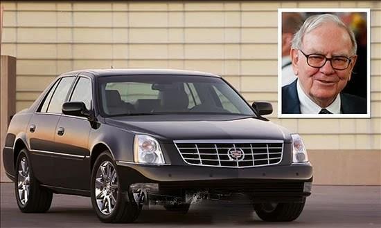 Tỷ phú khủng lái xế rẻ: Warren Buffett sử hữu một chiếc Cadillac DTS chỉ với giá 27,000 euro. Ảnh minh họa