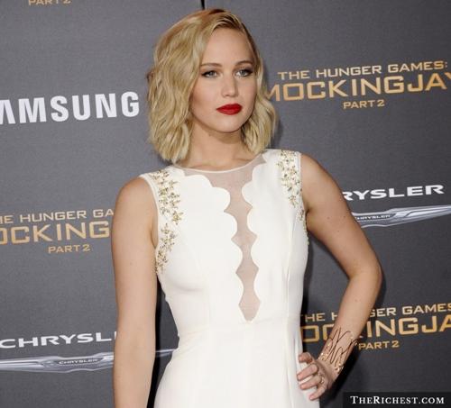 Mỹ nhân Hunger Game, Jennifer Lawrence  là mỹ  nhân đẹp nhất nước Mỹ