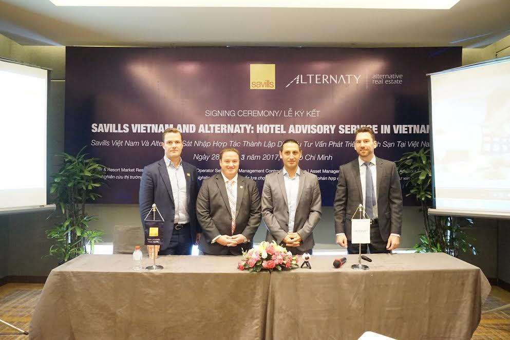 Savills sáp nhập với Alternaty thành lập dịch vụ tư vấn khách sạn