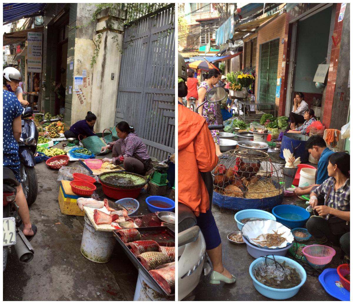Nhiều khu chợ tại Hà Nội hai đầu hai mức giá khác nhau